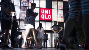Un magasin de la marque japonaise de vêtements Uniqlo à Pékin.