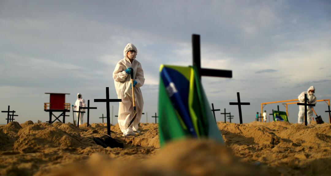 Brasil se convierte en el segundo país con más víctimas mortales ...
