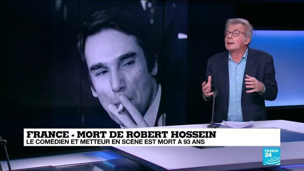 2020-12-31 14:38 Mort du comédien et metteur en scène Robert Hossein