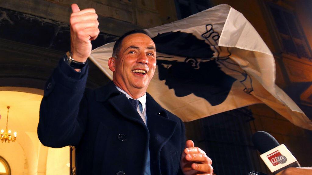 جيل سيميوني زعيم القوميين في كورسيكا الفرنسية