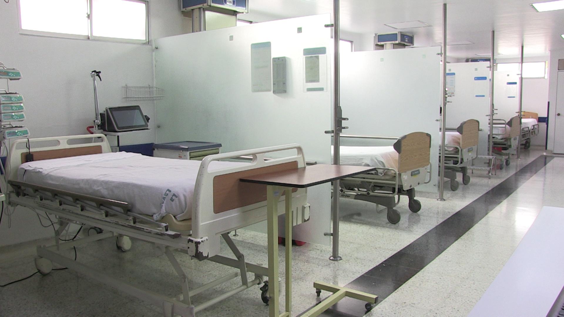 Con 42 camas de cuidados intensivos, el Hospital El Tunal se ha preparado a la espera de que las hospitalizaciones por Covid-19 puedan aumentar.