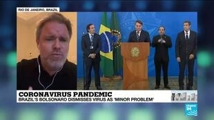 "2020-03-28 23:05 Coronavirus in Brazil: ""The greatest menace facing Brazil is the President Bolsonaro"""