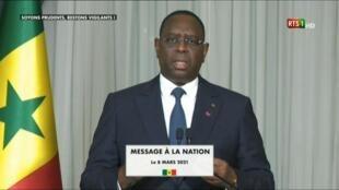 """""""Affaire Sonko"""" au Sénégal : le président Sall appelle au calme"""