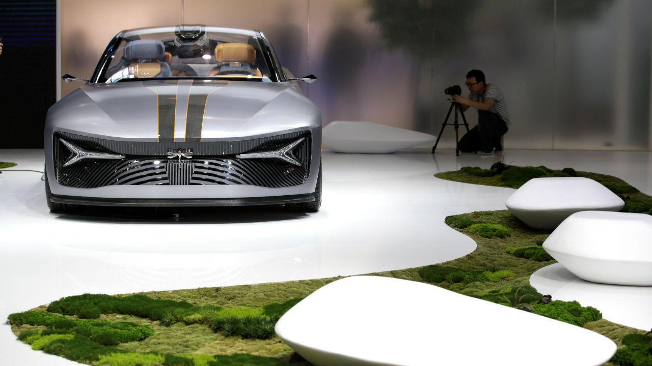 Le constructeur chinois CH-Auto compte commercialiser la voiture électrique Qiantu K50 aux États-Unis à partir de 2020.