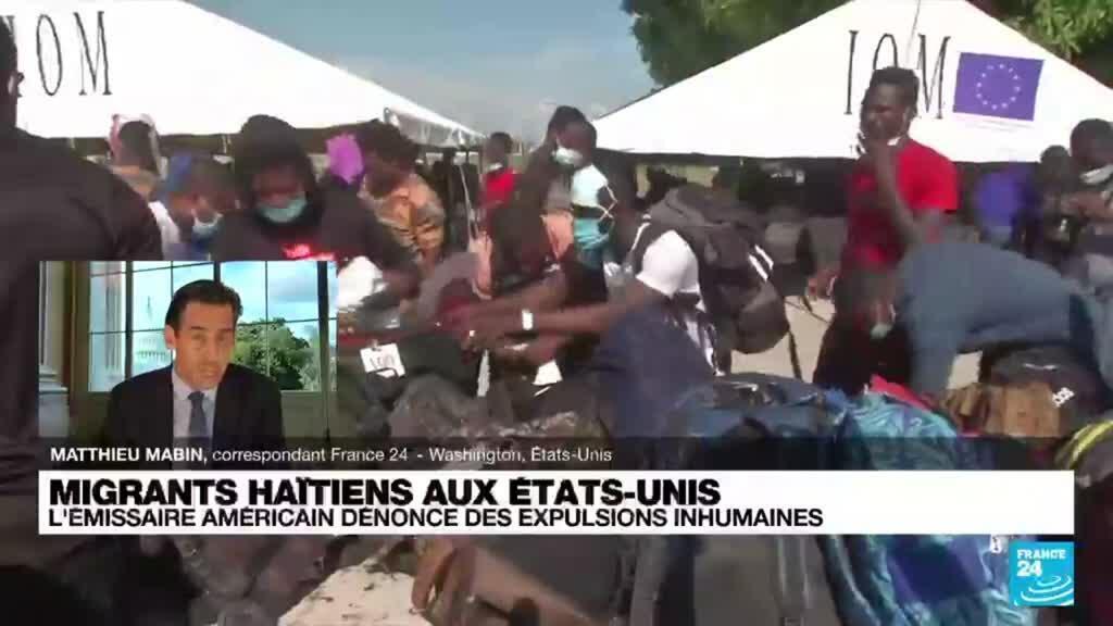 2021-09-23 18:04 Migrants haïtiens aux Etats-Unis : l'émissaire américain en Haïti démissionne