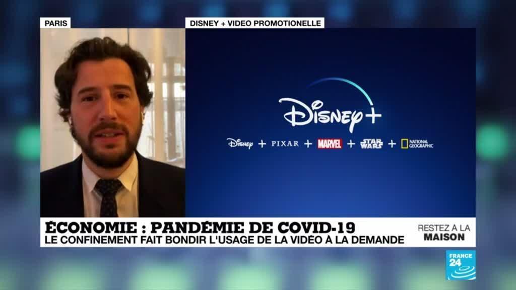 2020-04-06 09:11 Pandémie de Covid-19 : Le confinement fait bondir l'usage de la vidéo à la demande