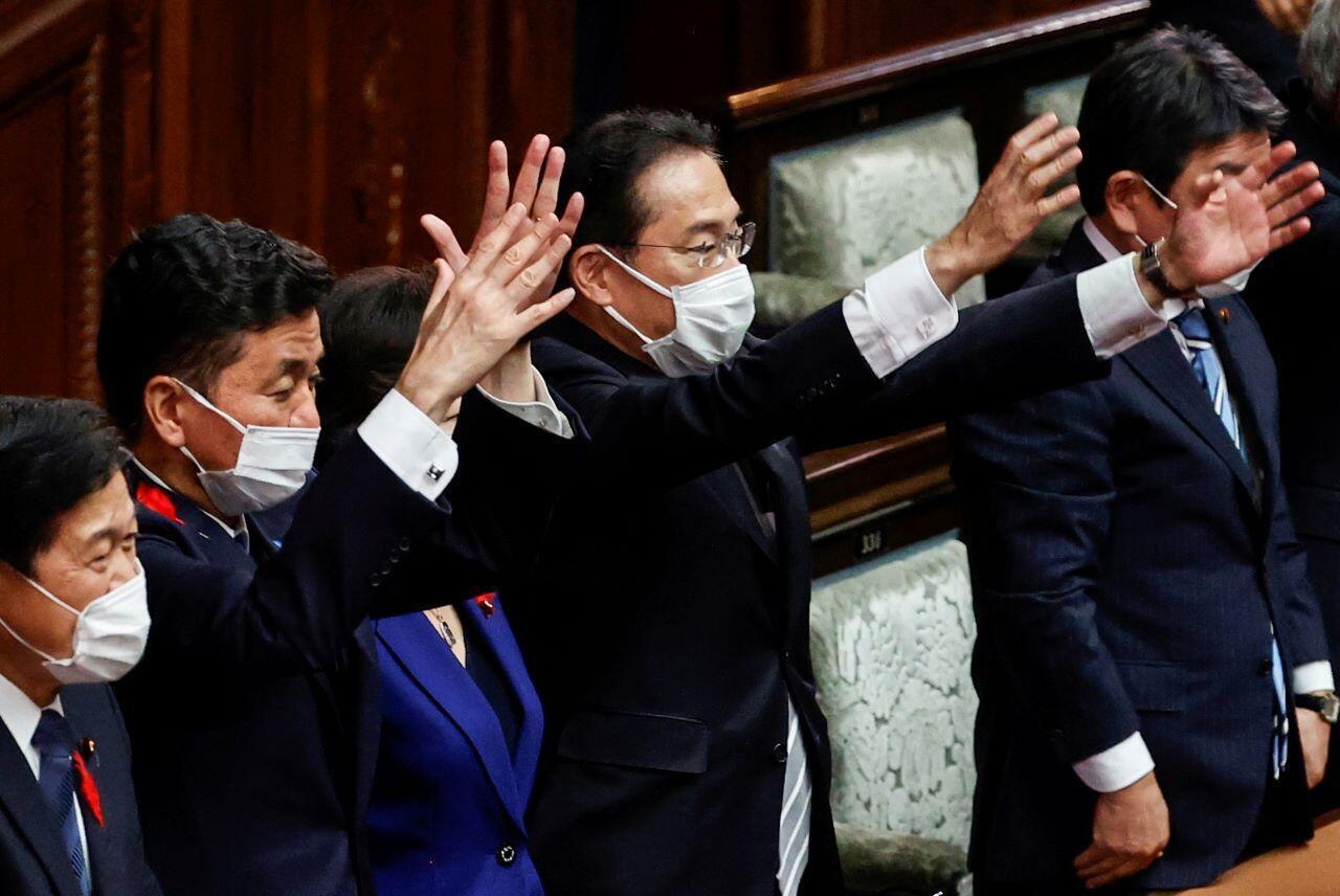 Japan Prime Minister Kishida Parliament