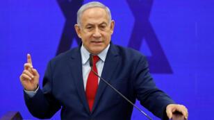 بنيامين نتانياهو يقطع على نفسه كل الوعود من أجل استقطاب أصوات اليمين.