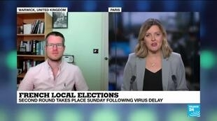 2020-06-26 14:09 French municipal elections 'a referendum' on Macron's handling of pandemic