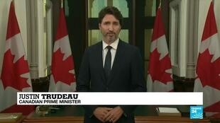 2020-09-24 08:10 Canada's Trudeau promises one million jobs, warns of virus second wave