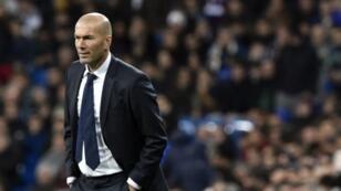 مدرب ريال مدريد زين الدبن زيدان.