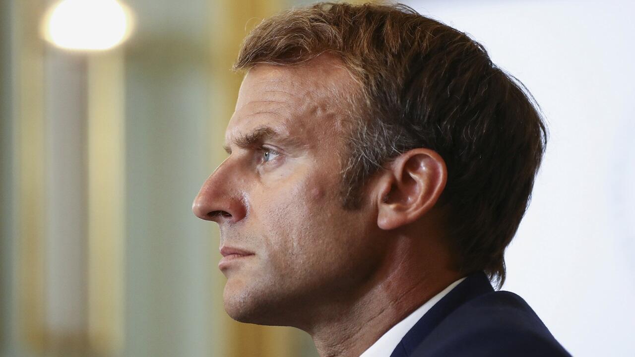 PHOTO Emmanuel Macron - 24 août 2021