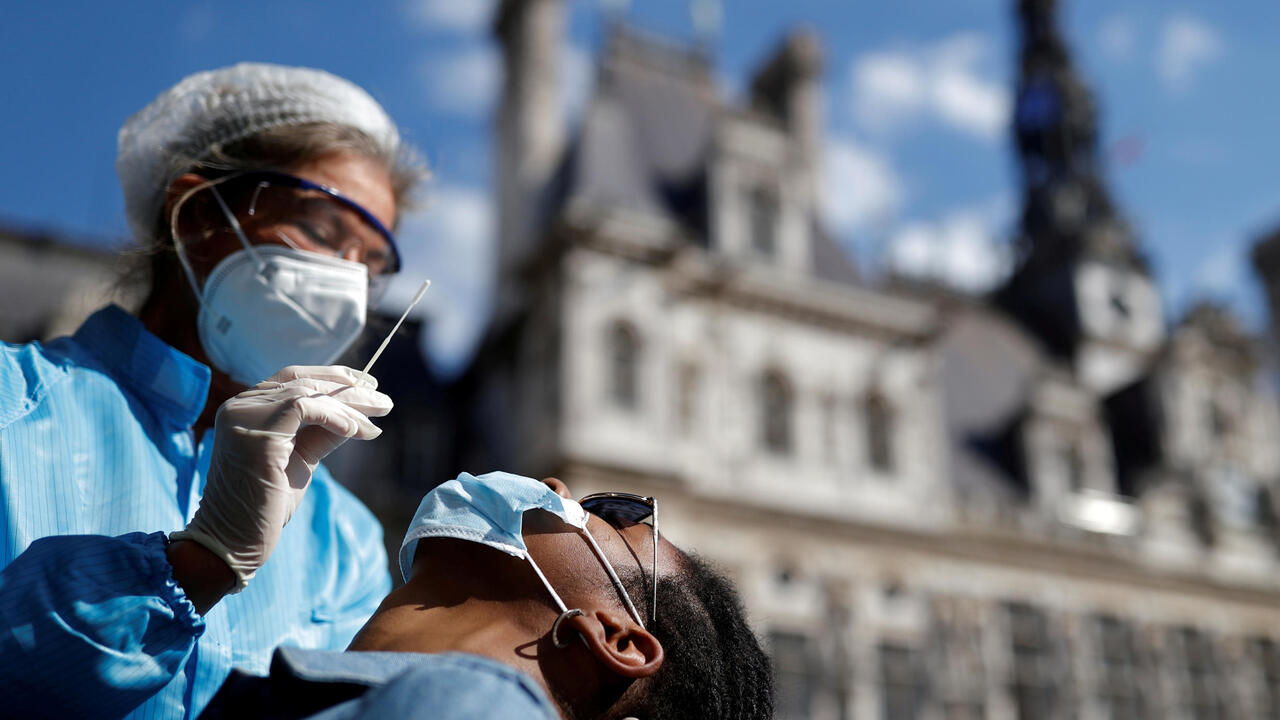 France records more than 7,000 new Covid-19 cases as virus resurges