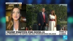 Covid-19, La Semana en América - Trump positivo Covid