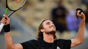 'Something special': Greece's Stefanos Tsitsipas celebrates his win over Andrey Rublev