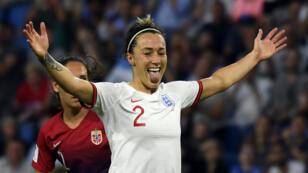 La défenseuse anglaise Lucy Bronze, lors du match contre la Norvège, le 27 juin 2019, au Havre.