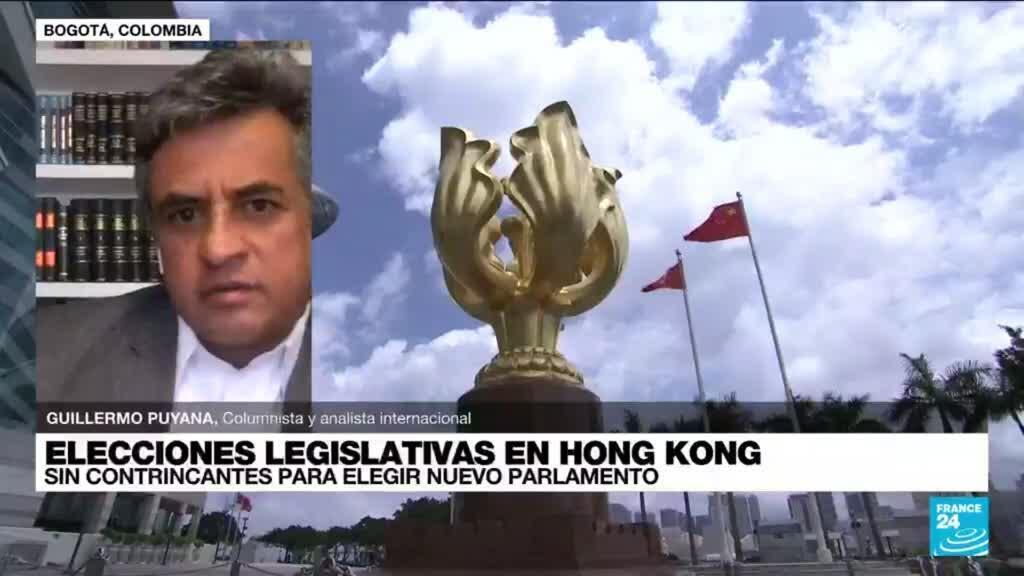 """2021-09-05 14:37 Guillermo Puyana: """"No se verá afectada la voluntad popular en elecciones de Hong Kong"""""""