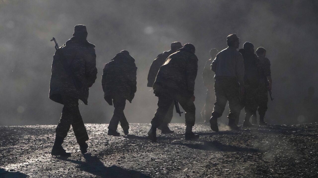 Ethnic Armenian soldiers