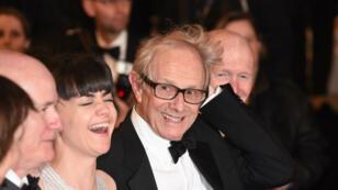 """Ken Loach, lauréat de la Palme d'or du Festival de Cannes 2016, pour son film """"I, Daniel Blake""""."""