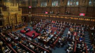 La Chambre des lords, en Grande-Bretagne, ne veut pas d'un Brexit sans accord.