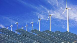 Les énergies solaires et éoliennes sont celles qui ont le plus progressées en 2015.