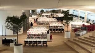 Oodi, la nueva biblioteca en Helsinki abre sus puertas.