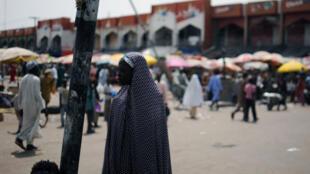 Le marché de la ville de Maiduguri, au Nigeria, en juin 2013.