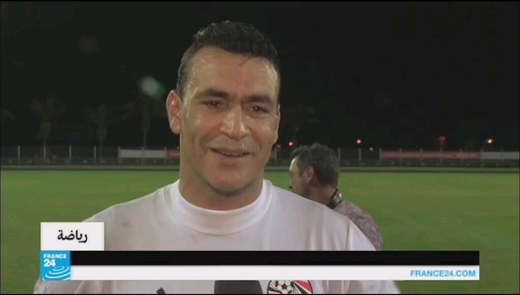 قائد المنتخب الوطني المصري عصام الحضري