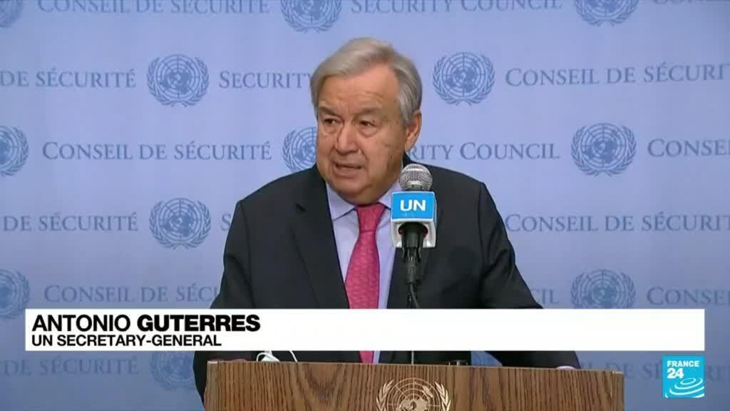2021-10-12 09:34 UN chief slams 'broken' Taliban promises made to women and girls