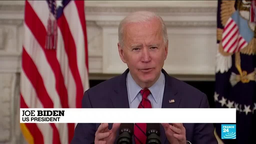 2021-03-24 13:18 Biden calls for assault weapon ban after Colorado shooting