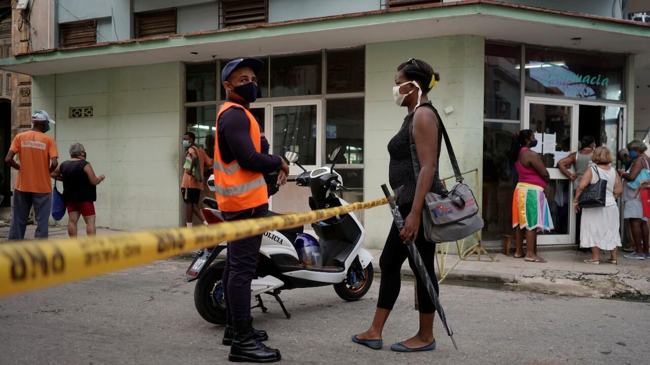 En Cuba se estuvieron aplicando restricciones hasta hace tres semanas en la capital. En La Habana, Cuba, el 1 de octubre de 2020.