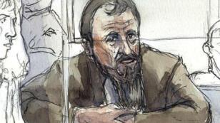 Christian Ganczarski, accusé de l'attentat-suicide de la synagogue de Djerba en 2002, comparaît devant la justice française en janvier 2009.