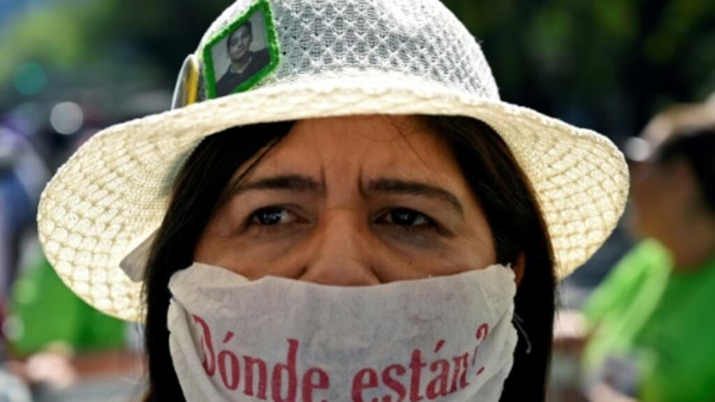 Mexicans march for their missing children on Mother's Day