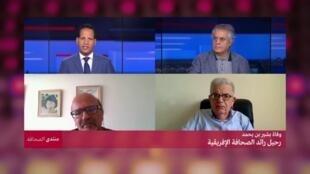 """برنامج """"منتدى الصحافة"""" مع عبد الله العالي."""