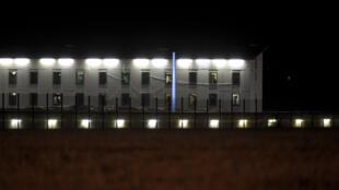 La prison de Vivonne, près de Poitiers, dans la soirée du lundi 12 septembre 2016.