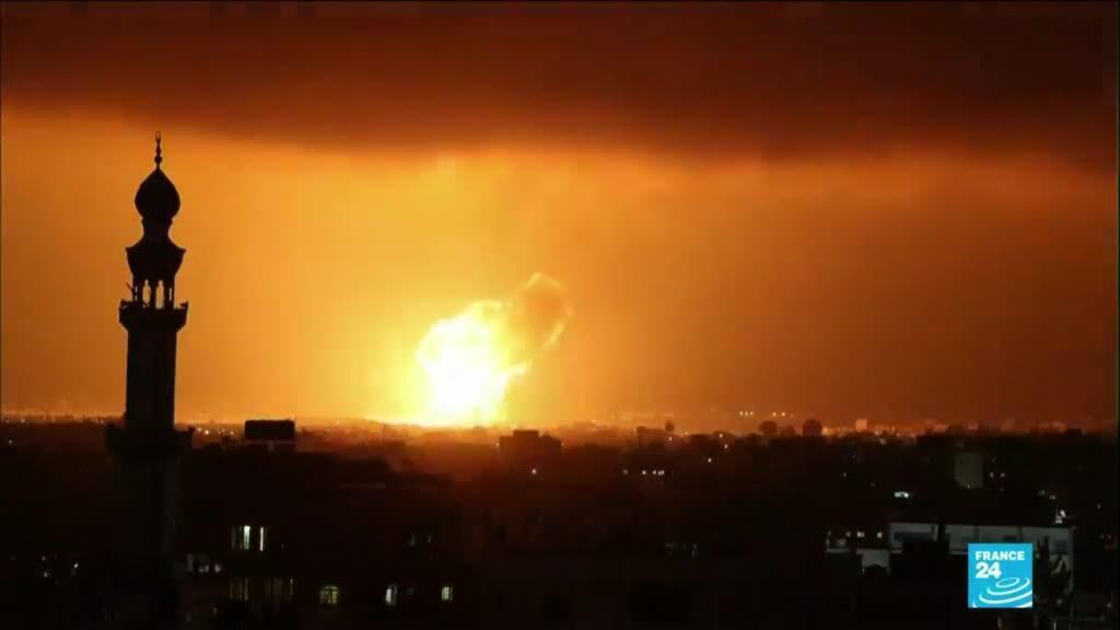 2021-05-11 14:01 Conflit Israélo-palestinien : tirs de roquettes depuis Gaza, représailles israéliennes