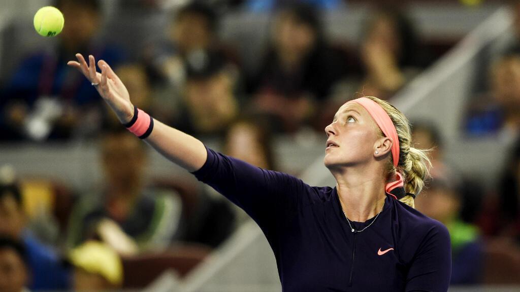 La Tchèque de 26 ans a remporté le tournoi de Wimbledon en 2011 et 2014.