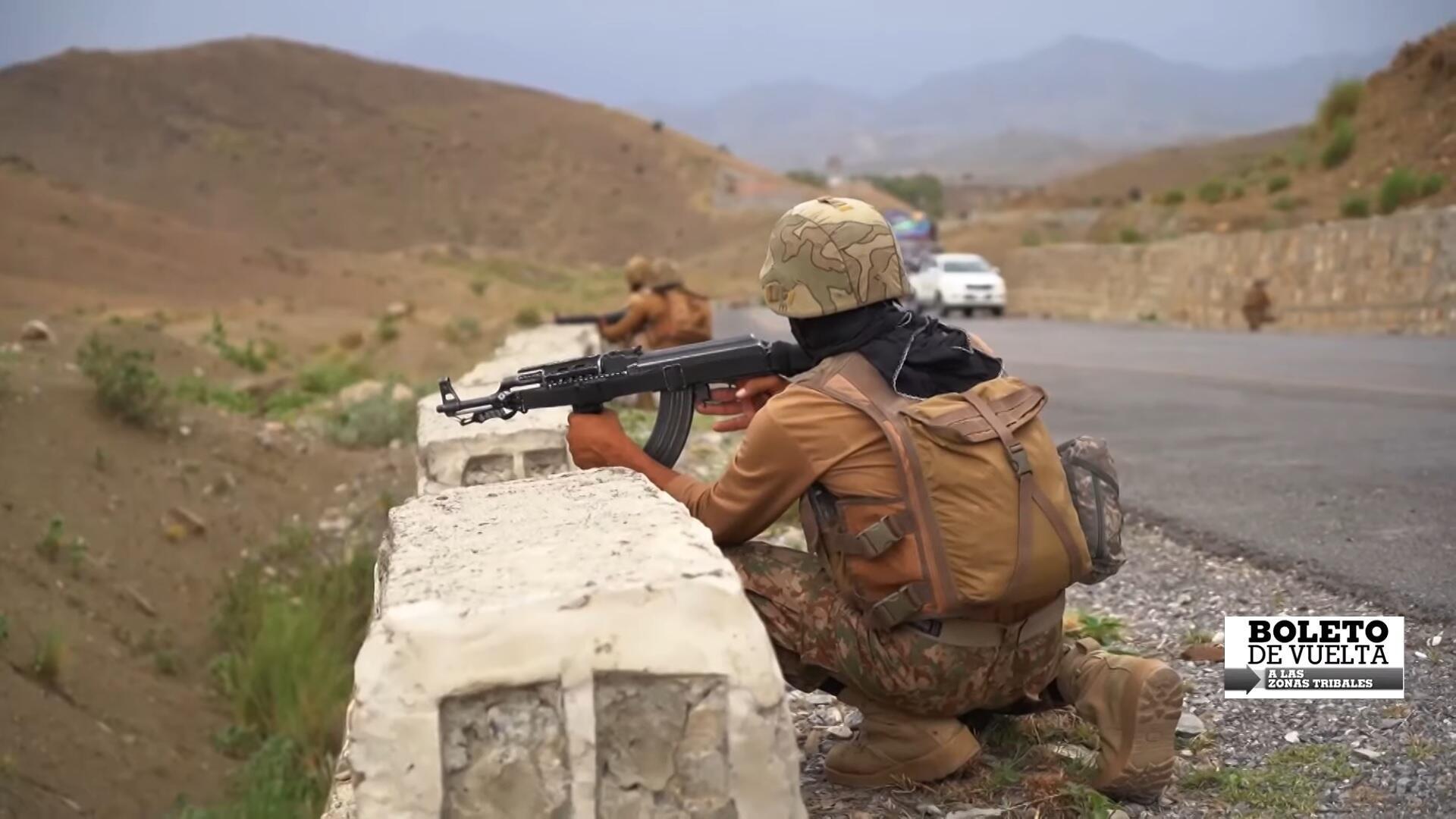 Boleto de Vuelta - zonas tribales Pakistán