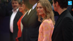 Vanessa Paradis at the Deauville American Film Festival on September 4, 2020.