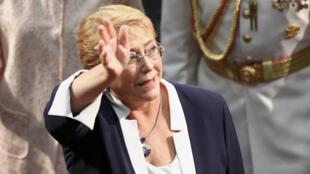 Michelle Bachelet fue dos veces presidenta de Chile.