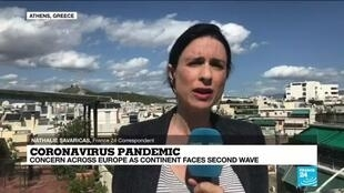 2020-10-13 13:06 Concern accross Europe as continent faces second wave: Update on the situation in Greece
