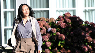 La directora financiera de Huawei, Meng Wanzhou, deja su mansión en Vancouver para comparecer ante la Corte Suprema de Columbia Británica