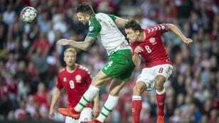 Shane Duffy scored the third international goal of his career as the Republic of Ireland drew 1-1 with Denmark