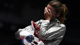 En sabre féminin, Manon Brunet a échoué au pied du podium