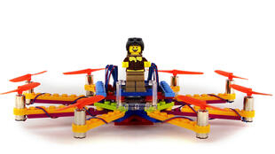 Vous en avez rêvé ? Voici un kit pour monter son drone en Lego.