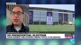 2020-09-29 22:01 First US presidential debate 'tends to be the most watched', professor Matthew Dallek says