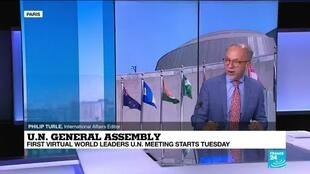 2020-09-22 14:01 UN General Assembly: Empty summit for world in crisis