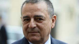 Le ministre algérien de l'Industrie Abdeslam Bouchouareb lors d'une visite à l'Élysée, à Paris, le 26 octobre 2016.