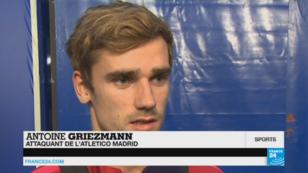 Antoine Griezmann, attaquant de l'Atletico Madrid.