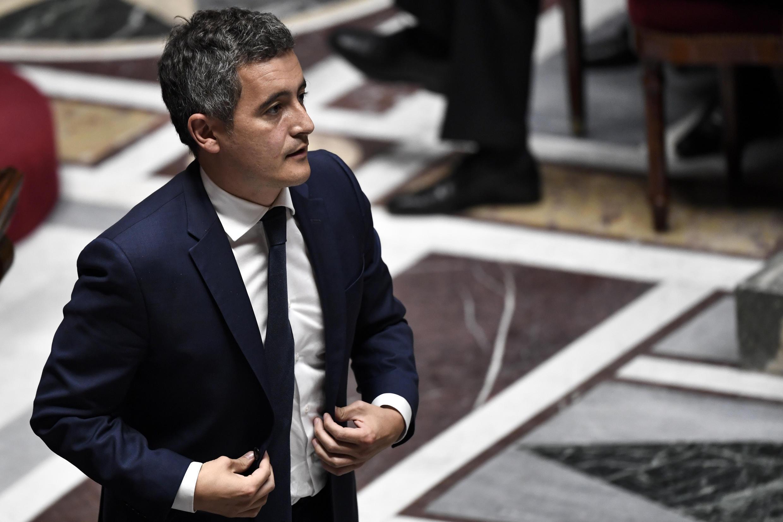 Gérald Darmanin lors des questions au gouvernement à l'Assemblée nationale, le 28 juillet 2020.